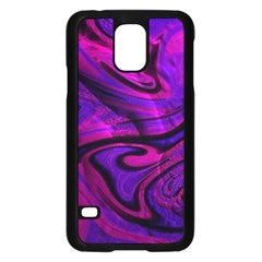 Wet Wallpaper, Pink Samsung Galaxy S5 Case (black)