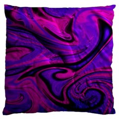 Wet Wallpaper, Pink Large Flano Cushion Cases (one Side)