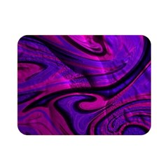 Wet Wallpaper, Pink Double Sided Flano Blanket (Mini)