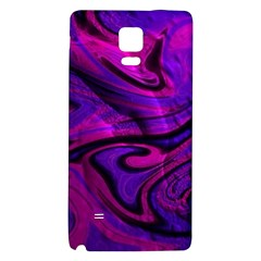 Wet Wallpaper, Pink Galaxy Note 4 Back Case