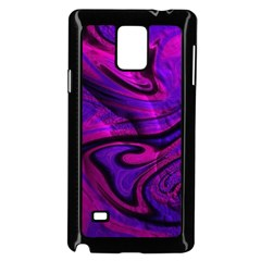 Wet Wallpaper, Pink Samsung Galaxy Note 4 Case (Black)