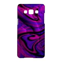 Wet Wallpaper, Pink Samsung Galaxy A5 Hardshell Case