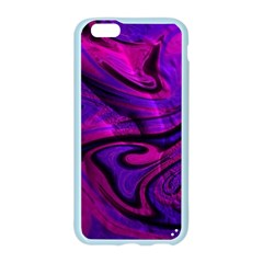 Wet Wallpaper, Pink Apple Seamless iPhone 6 Case (Color)