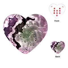 Wet Metal Pink Playing Cards (Heart)