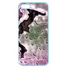 Wet Metal Pink Apple Seamless Iphone 5 Case (color)