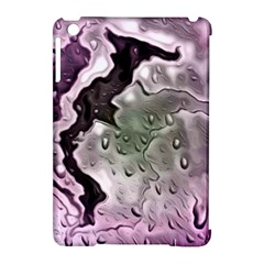 Wet Metal Pink Apple Ipad Mini Hardshell Case (compatible With Smart Cover)