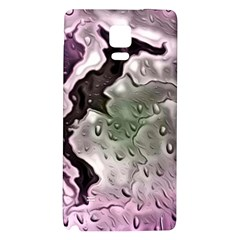 Wet Metal Pink Galaxy Note 4 Back Case