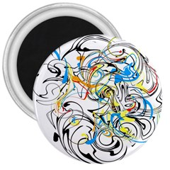 Abstract Fun Design 3  Magnets