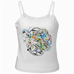 Abstract Fun Design Ladies Camisoles