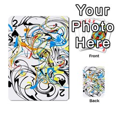 Abstract Fun Design Playing Cards 54 Designs