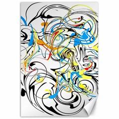 Abstract Fun Design Canvas 20  X 30