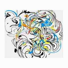 Abstract Fun Design Small Glasses Cloth (2-Side)