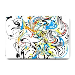 Abstract Fun Design Small Doormat