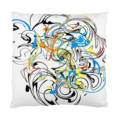 Abstract Fun Design Standard Cushion Case (One Side)