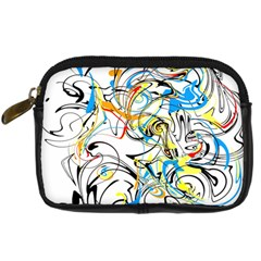 Abstract Fun Design Digital Camera Cases