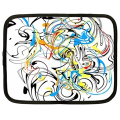 Abstract Fun Design Netbook Case (xl)