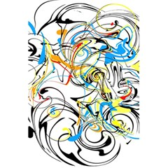 Abstract Fun Design 5 5  X 8 5  Notebooks
