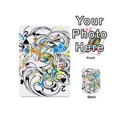 Abstract Fun Design Playing Cards 54 (mini)