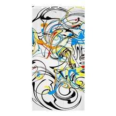 Abstract Fun Design Shower Curtain 36  x 72  (Stall)