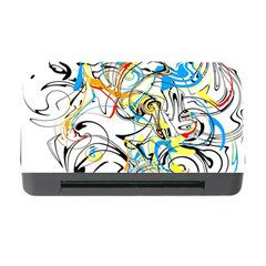Abstract Fun Design Memory Card Reader with CF