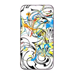 Abstract Fun Design Apple iPhone 4/4s Seamless Case (Black)