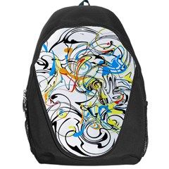 Abstract Fun Design Backpack Bag