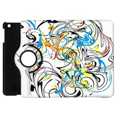 Abstract Fun Design Apple iPad Mini Flip 360 Case