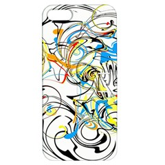 Abstract Fun Design Apple Iphone 5 Hardshell Case With Stand