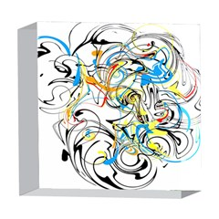 Abstract Fun Design 5  x 5  Acrylic Photo Blocks