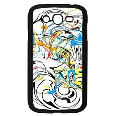 Abstract Fun Design Samsung Galaxy Grand DUOS I9082 Case (Black)