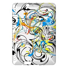 Abstract Fun Design Kindle Fire HDX Hardshell Case
