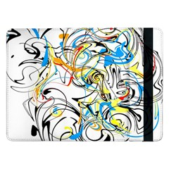 Abstract Fun Design Samsung Galaxy Tab Pro 12.2  Flip Case