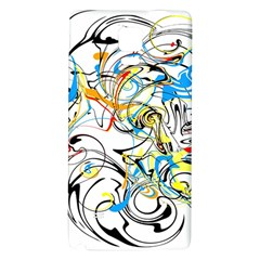 Abstract Fun Design Galaxy Note 4 Back Case