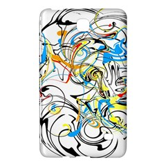 Abstract Fun Design Samsung Galaxy Tab 4 (7 ) Hardshell Case