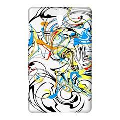 Abstract Fun Design Samsung Galaxy Tab S (8.4 ) Hardshell Case