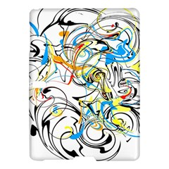 Abstract Fun Design Samsung Galaxy Tab S (10.5 ) Hardshell Case