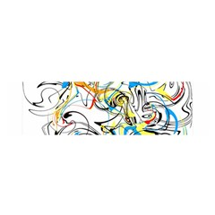 Abstract Fun Design Satin Scarf (oblong)