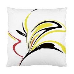 Abstract Flower Design Standard Cushion Case (one Side)