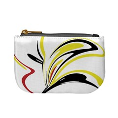 Abstract Flower Design Mini Coin Purses