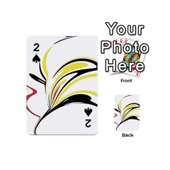 Abstract Flower Design Playing Cards 54 (mini)