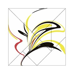 Abstract Flower Design Acrylic Tangram Puzzle (6  X 6 )