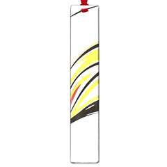 Abstract Flower Design Large Book Marks