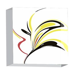 Abstract Flower Design 5  x 5  Acrylic Photo Blocks