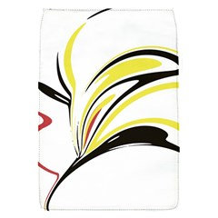 Abstract Flower Design Flap Covers (s)
