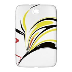 Abstract Flower Design Samsung Galaxy Note 8.0 N5100 Hardshell Case