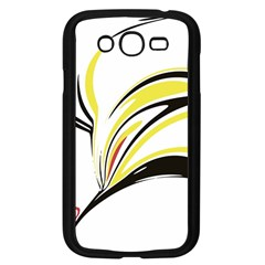Abstract Flower Design Samsung Galaxy Grand Duos I9082 Case (black)