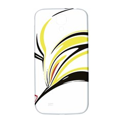Abstract Flower Design Samsung Galaxy S4 I9500/I9505  Hardshell Back Case