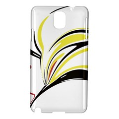 Abstract Flower Design Samsung Galaxy Note 3 N9005 Hardshell Case