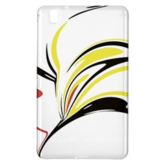 Abstract Flower Design Samsung Galaxy Tab Pro 8 4 Hardshell Case