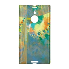 Abstract Flower Design in Turquoise and Yellows Nokia Lumia 1520